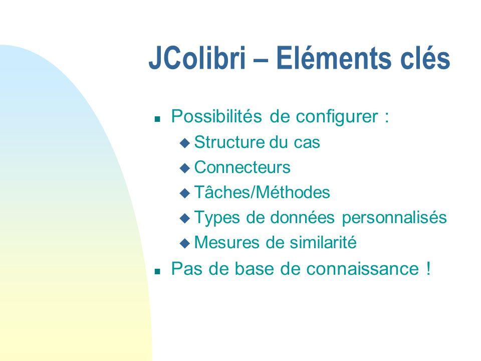 JColibri – Eléments clés