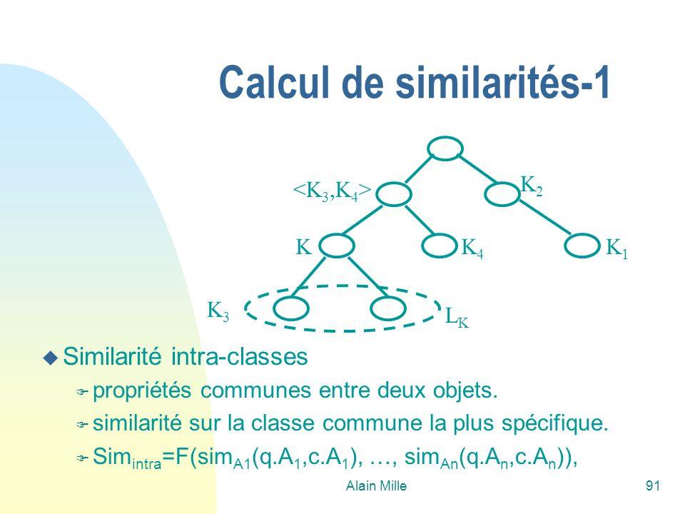 Calcul de similarités-1