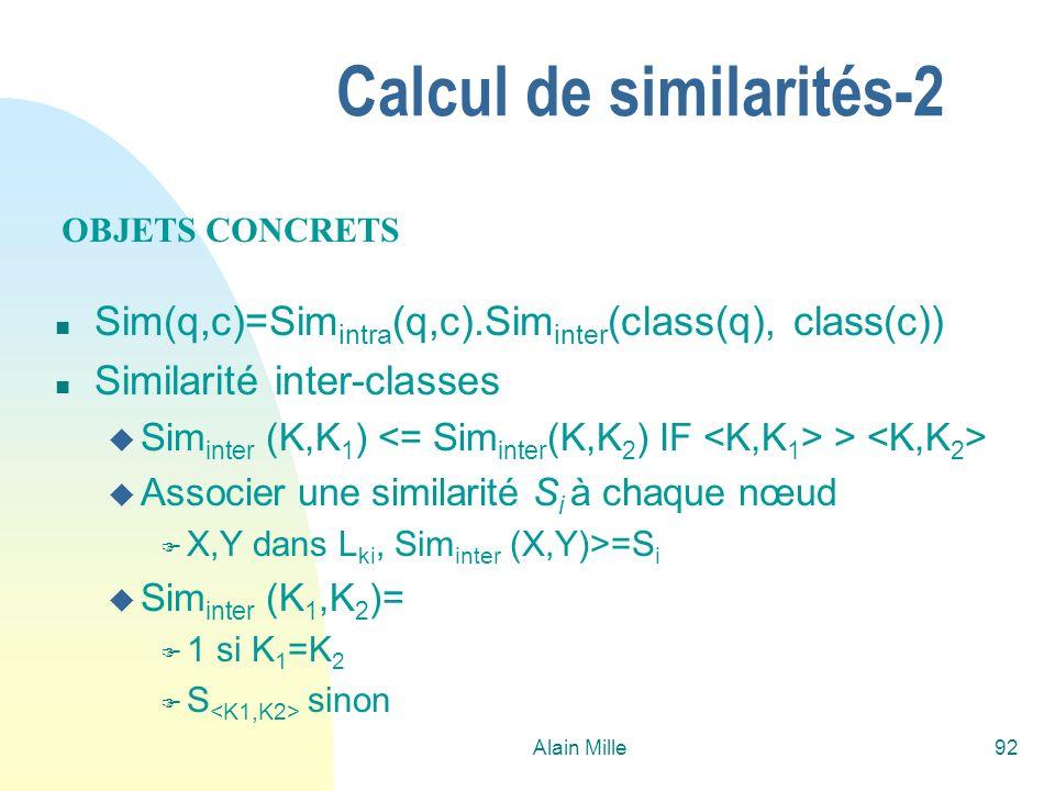 Calcul de similarités-2
