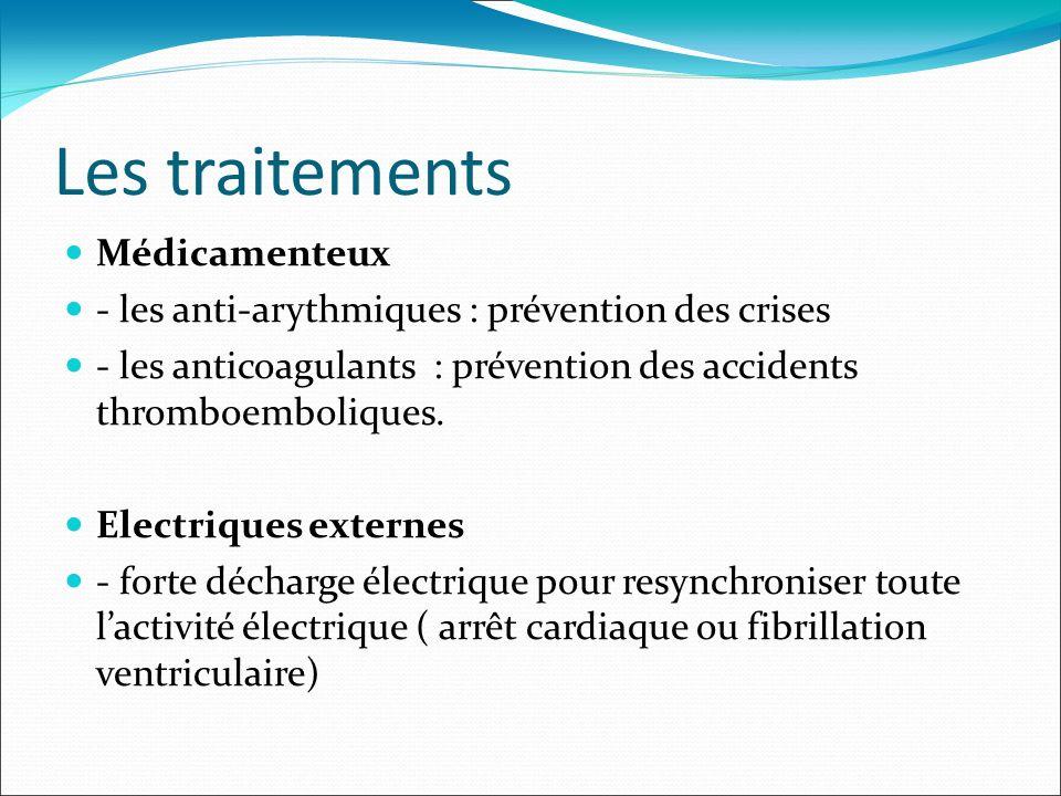 Les traitements Médicamenteux