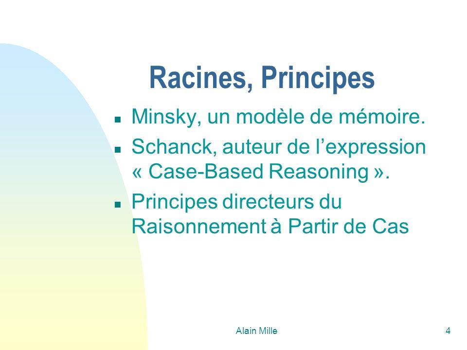 Racines, Principes Minsky, un modèle de mémoire.
