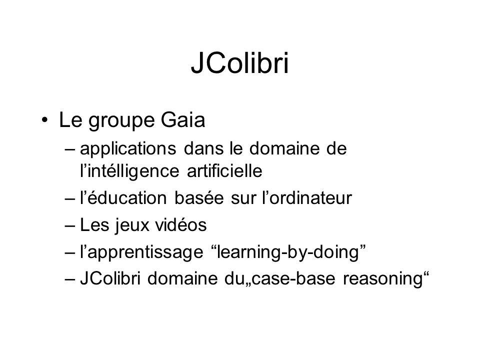 JColibri Le groupe Gaia