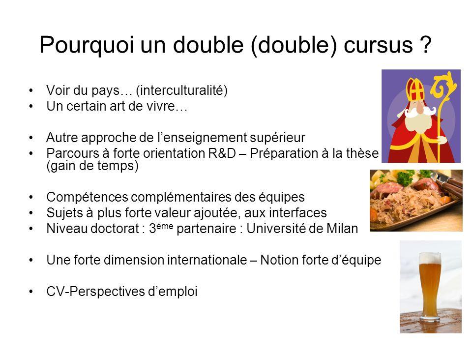 Pourquoi un double (double) cursus