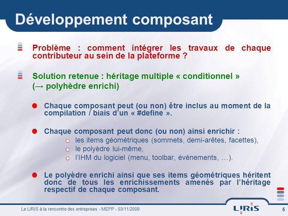 Développement composant