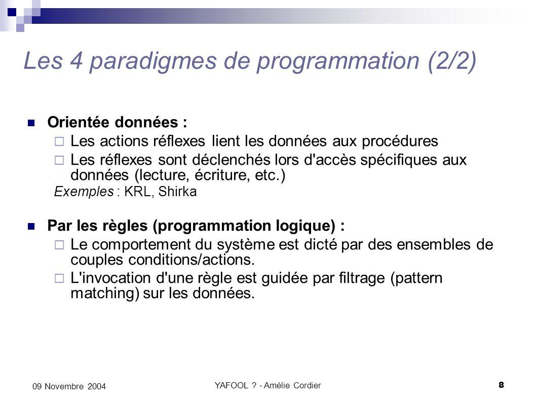Les 4 paradigmes de programmation (2/2)