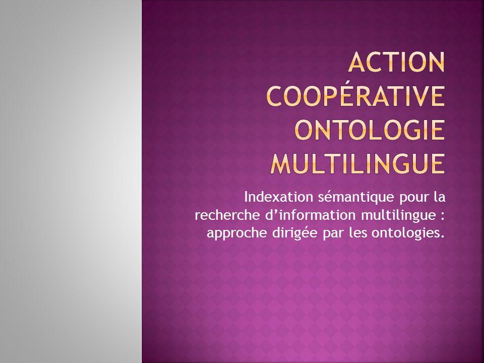 Action Coopérative Ontologie Multilingue