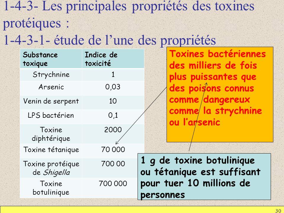 Toxine protéique de Shigella