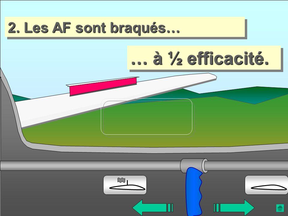 2. Les AF sont braqués… … à ½ efficacité.
