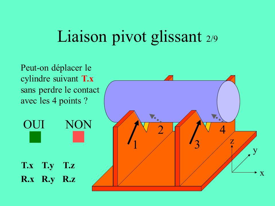 Liaison pivot glissant 2/9