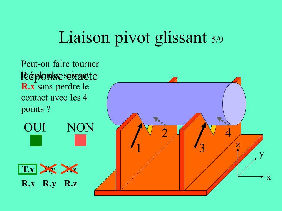 Liaison pivot glissant 5/9