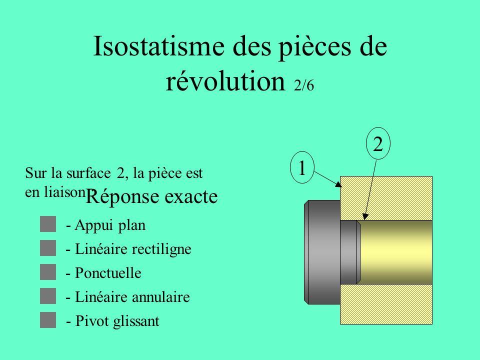 Isostatisme des pièces de révolution 2/6
