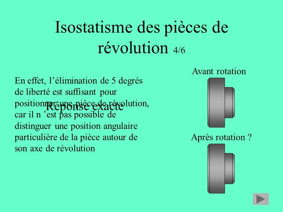 Isostatisme des pièces de révolution 4/6
