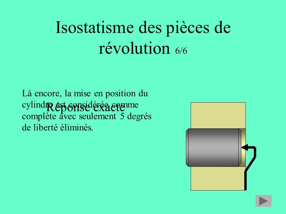 Isostatisme des pièces de révolution 6/6