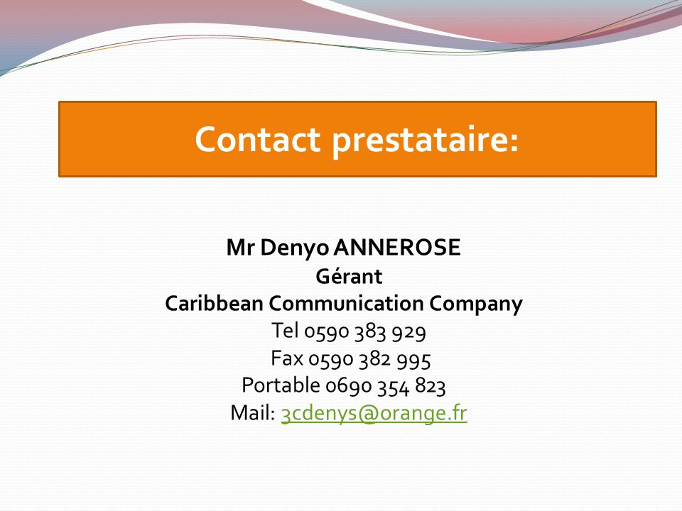 Caribbean Communication Company