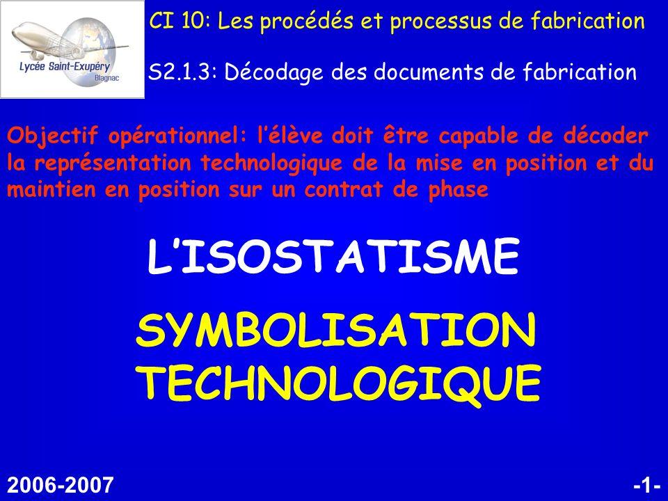SYMBOLISATION TECHNOLOGIQUE