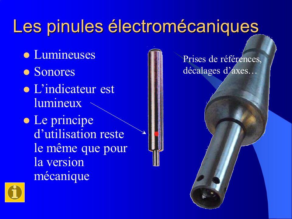 Les pinules électromécaniques