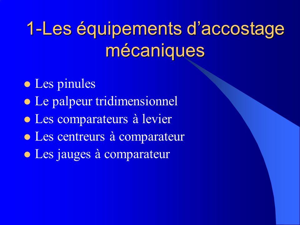 1-Les équipements d'accostage mécaniques