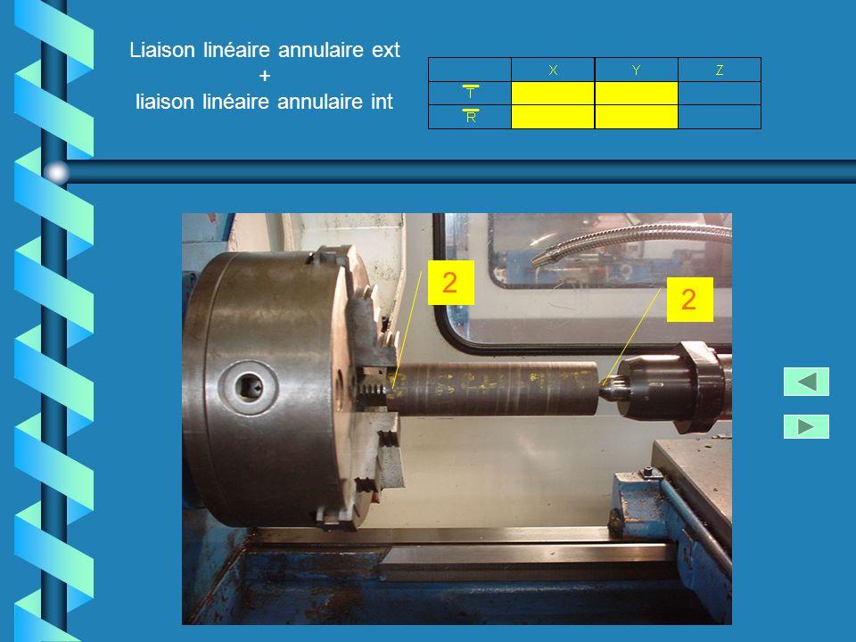 Liaison linéaire annulaire ext + liaison linéaire annulaire int