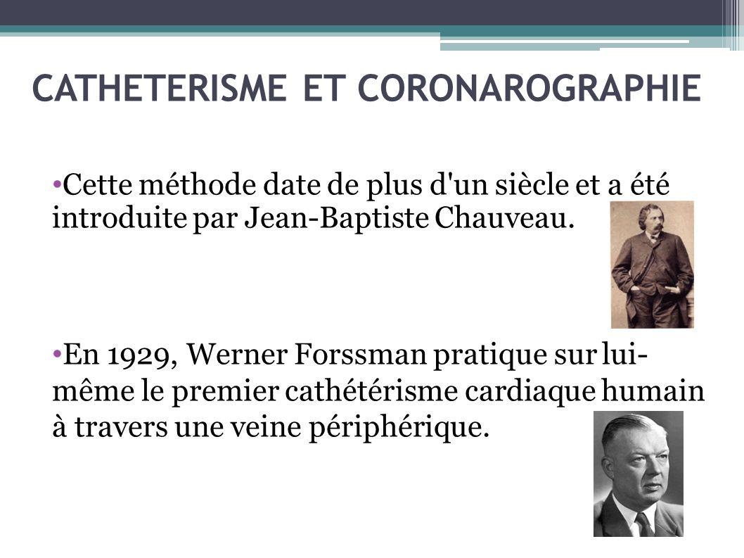 CATHETERISME ET CORONAROGRAPHIE