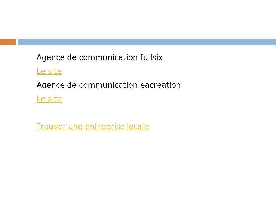 Agence de communication fullsix