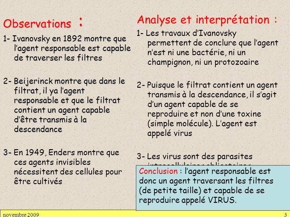 Analyse et interprétation :