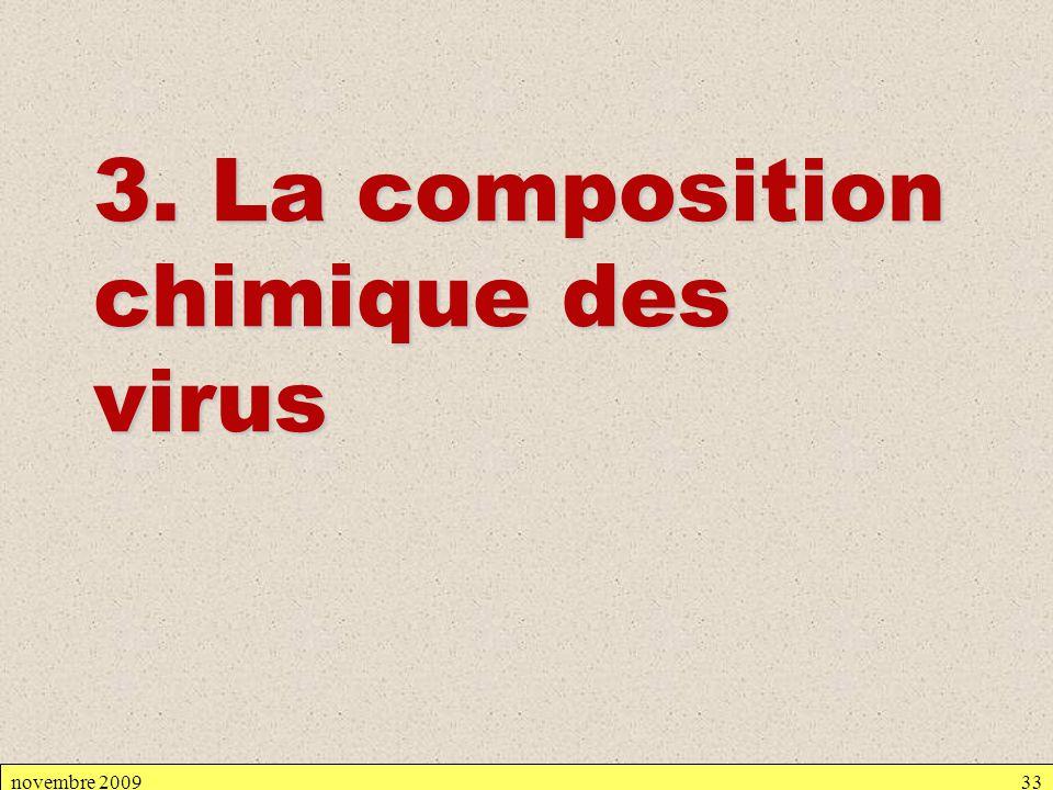 3. La composition chimique des virus