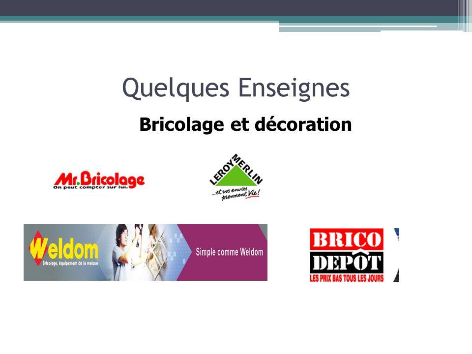 Bricolage et décoration