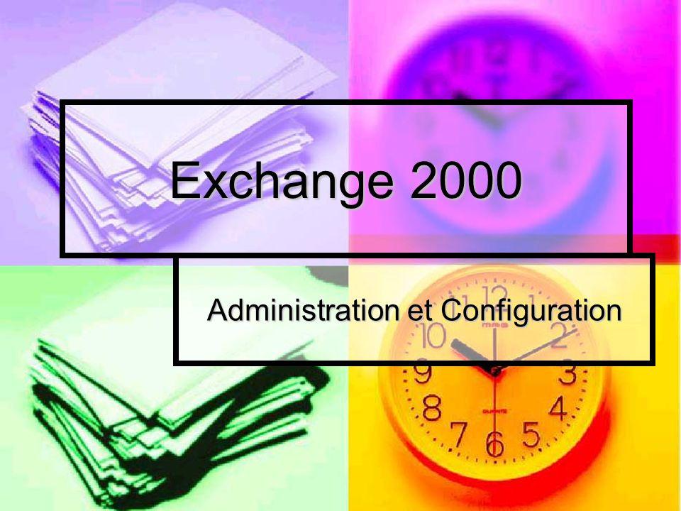 Administration et Configuration