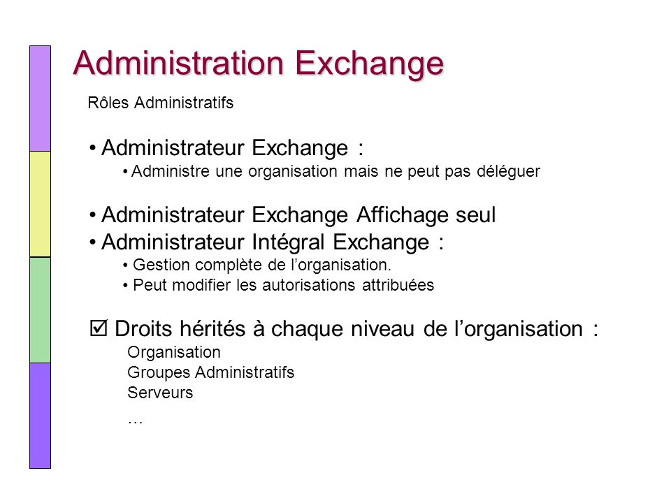 Administration Exchange