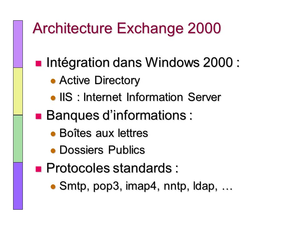Architecture Exchange 2000