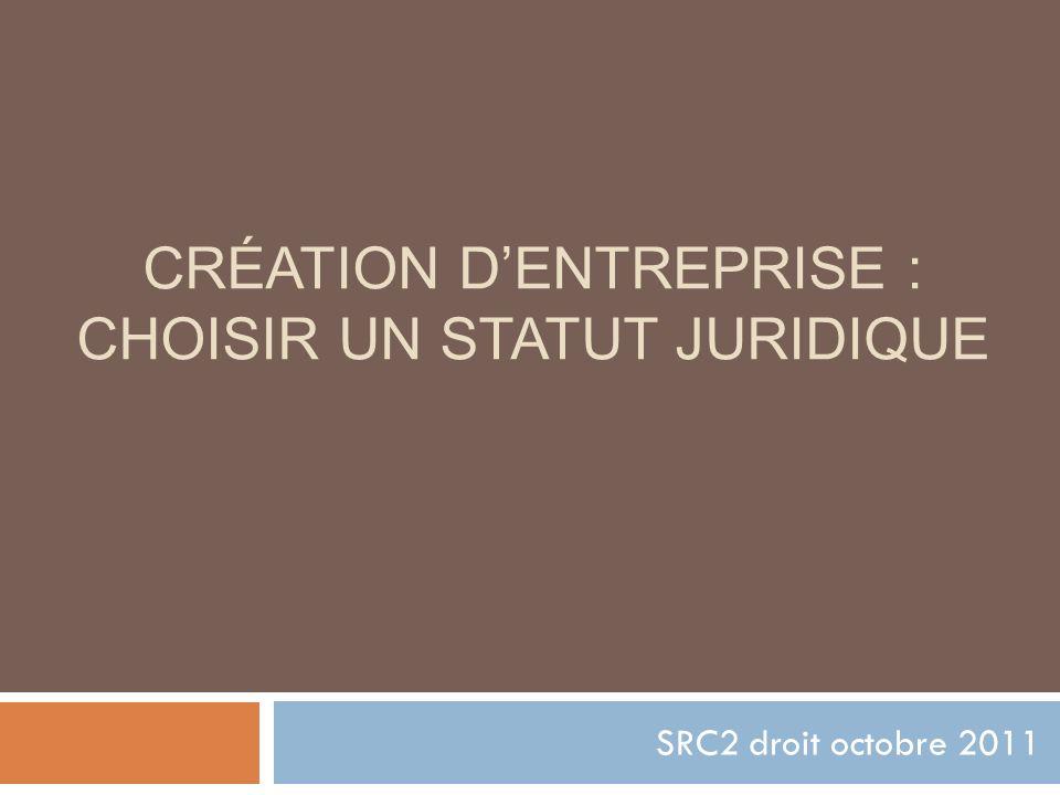 Création d'entreprise : choisir un statut juridique