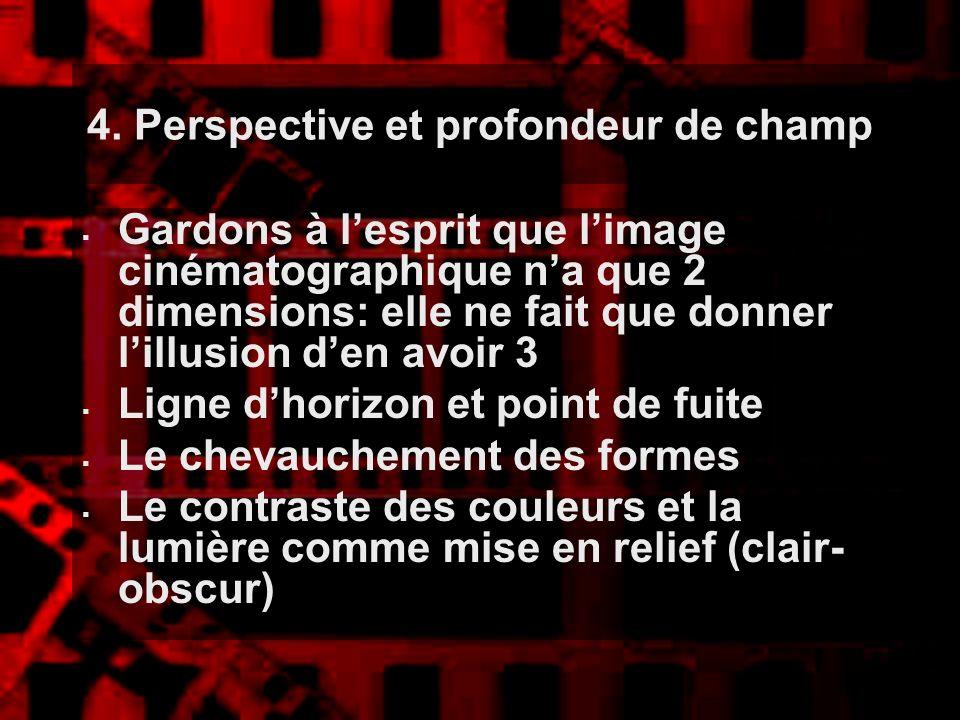 4. Perspective et profondeur de champ