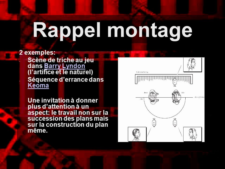 Rappel montage 2 exemples: