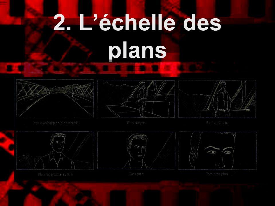 2. L'échelle des plans