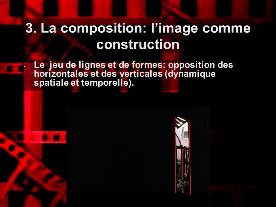 3. La composition: l'image comme construction