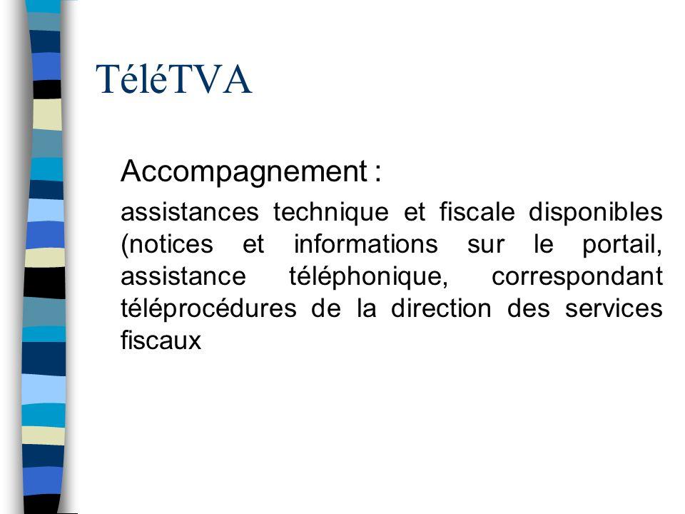 TéléTVA Accompagnement :