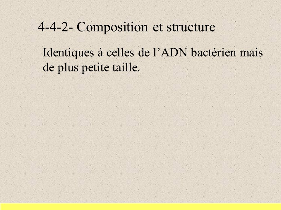 4-4-2- Composition et structure