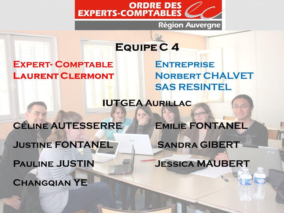 Equipe C 4 Expert- Comptable Entreprise