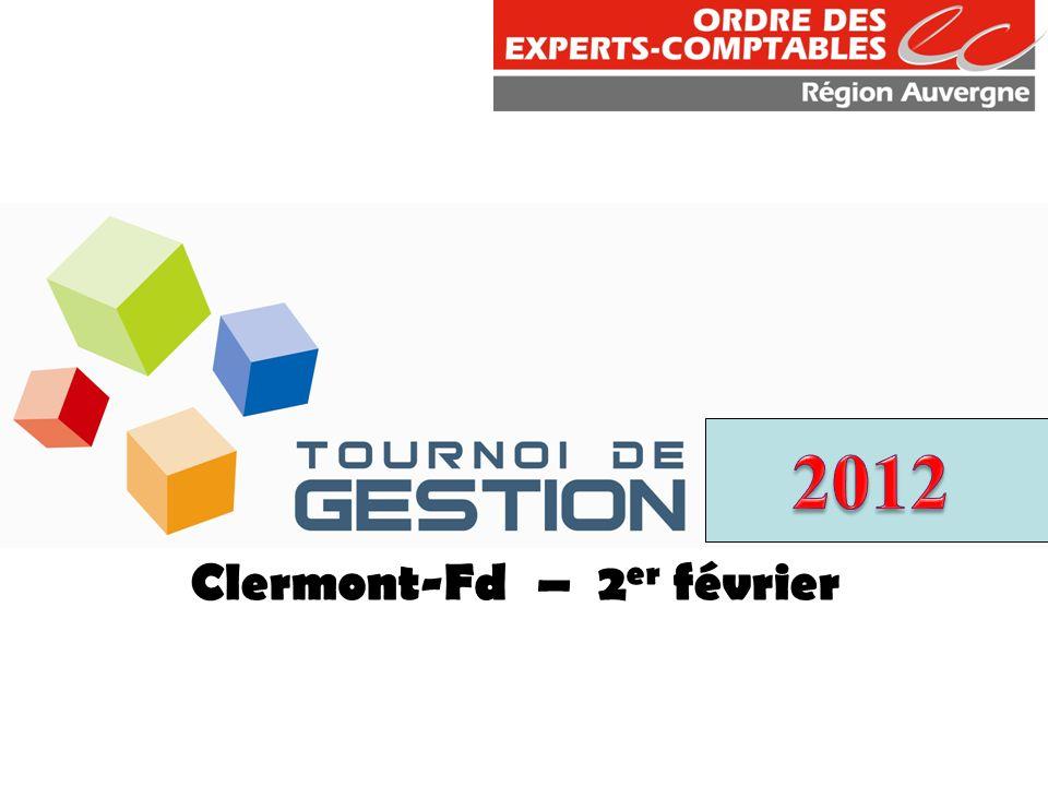 Clermont-Fd – 2er février