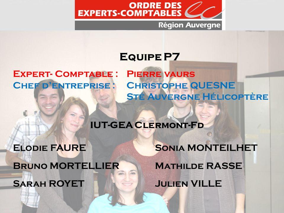 Equipe P7 Expert- Comptable : Pierre vaurs