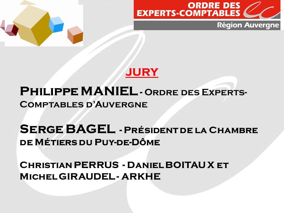 Philippe MANIEL - Ordre des Experts-Comptables d'Auvergne