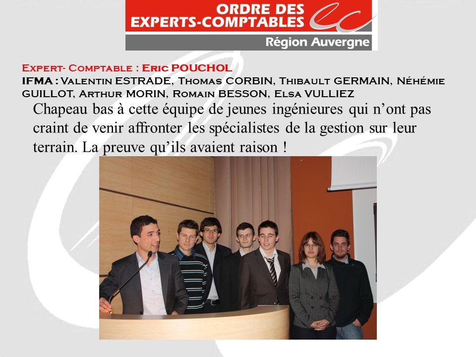 Expert- Comptable : Eric POUCHOL