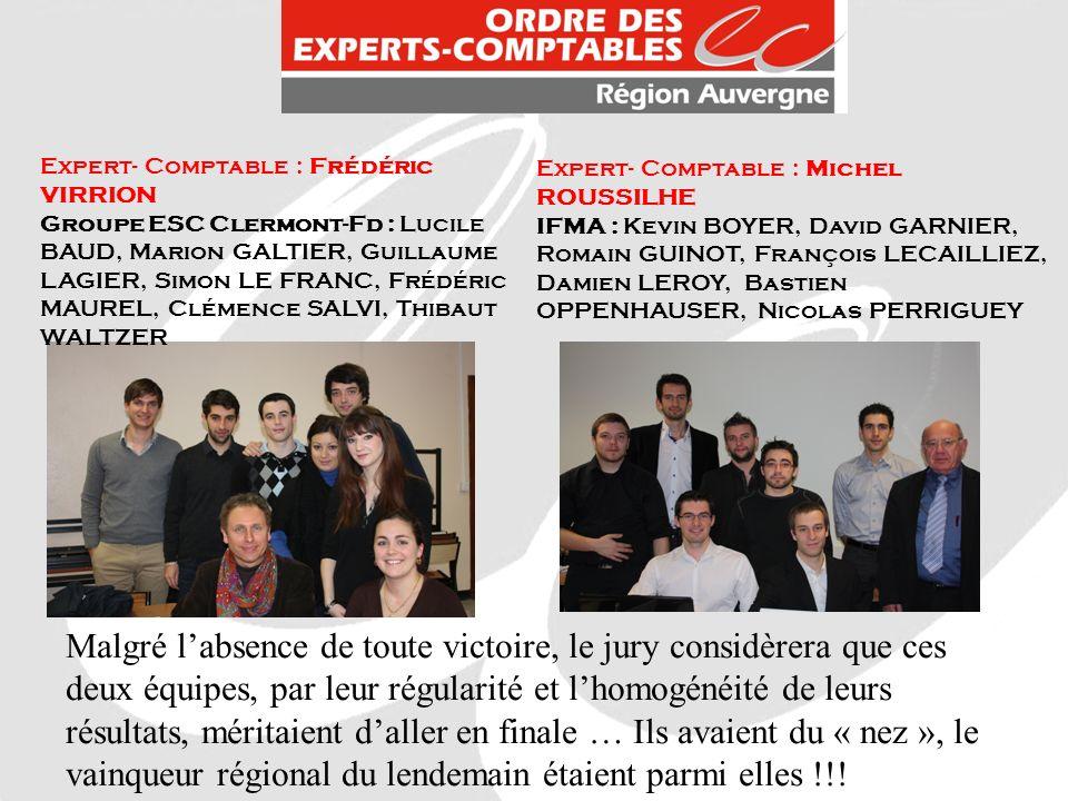 Expert- Comptable : Frédéric VIRRION