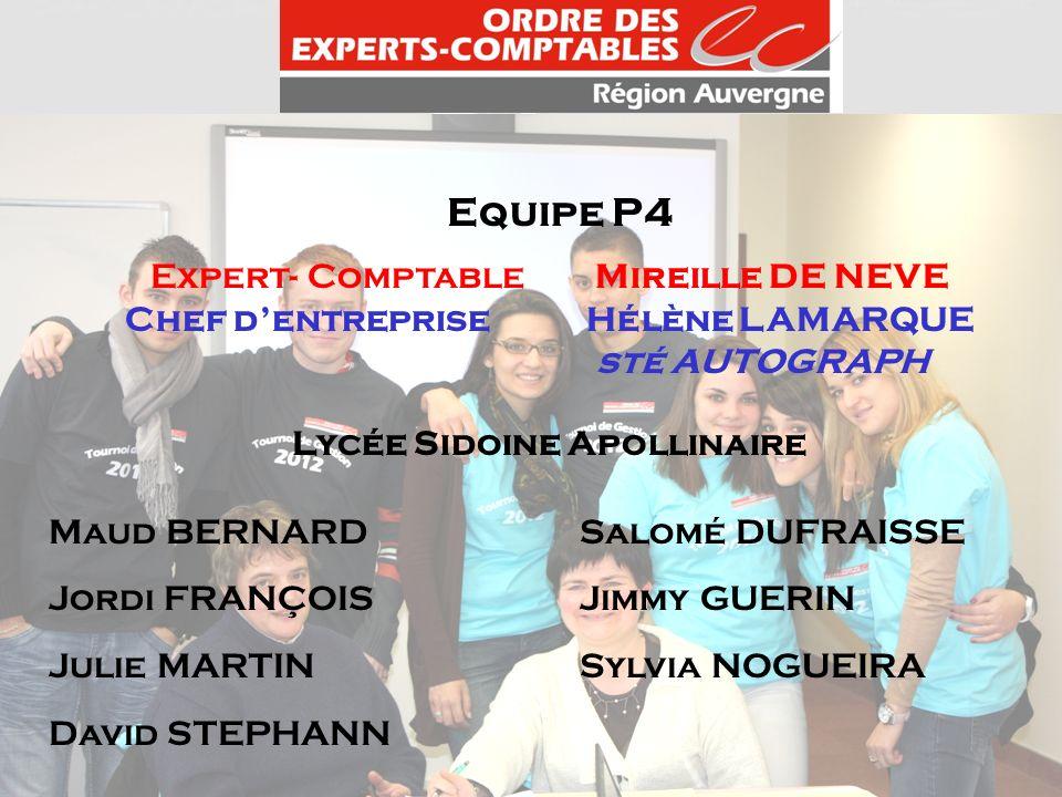 Chef d'entreprise Hélène LAMARQUE Lycée Sidoine Apollinaire