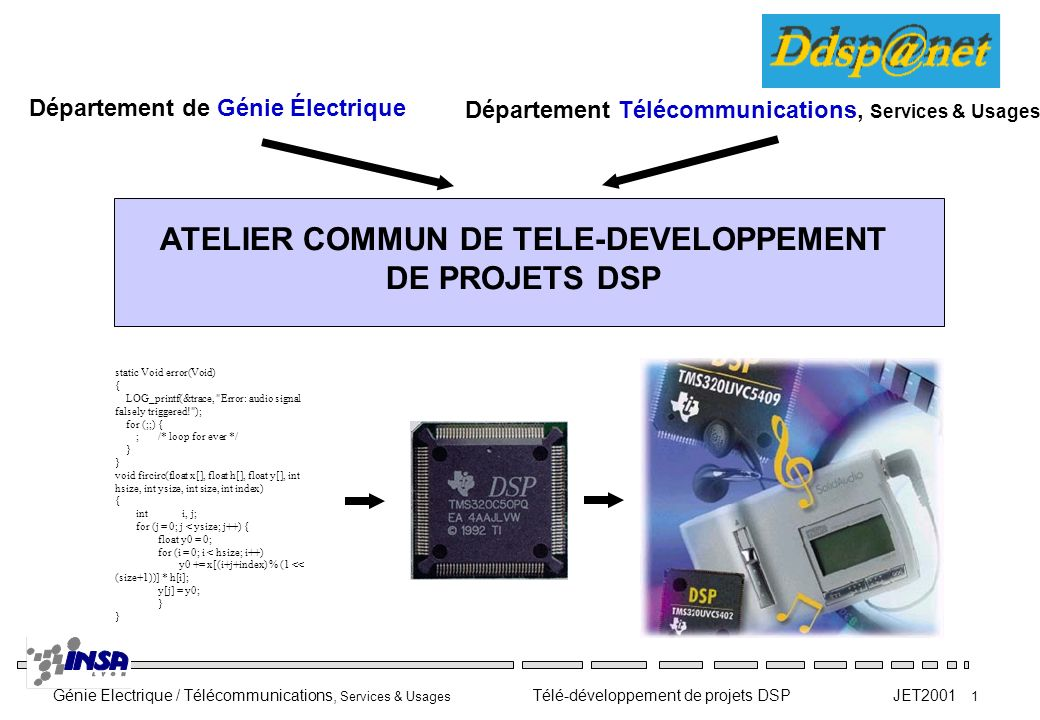 ATELIER COMMUN DE TELE-DEVELOPPEMENT