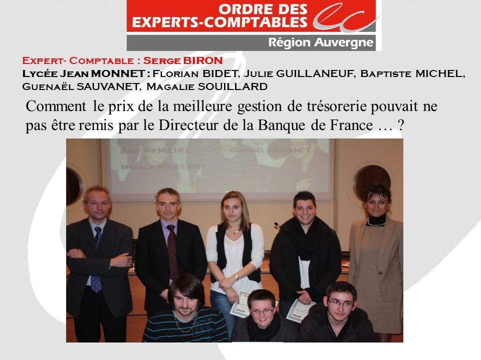 Expert- Comptable : Serge BIRON