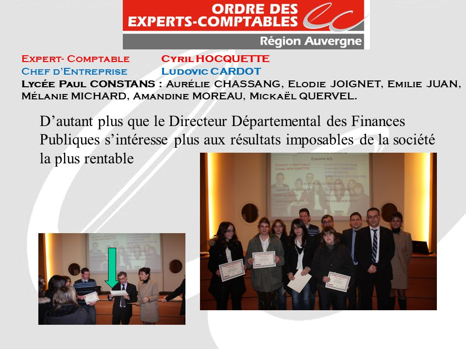 Expert- Comptable Cyril HOCQUETTE