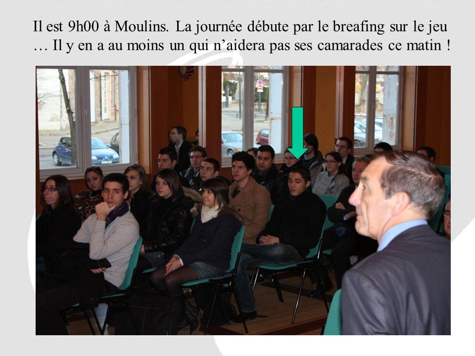 Il est 9h00 à Moulins.