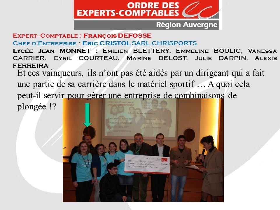 Expert- Comptable : François DEFOSSE