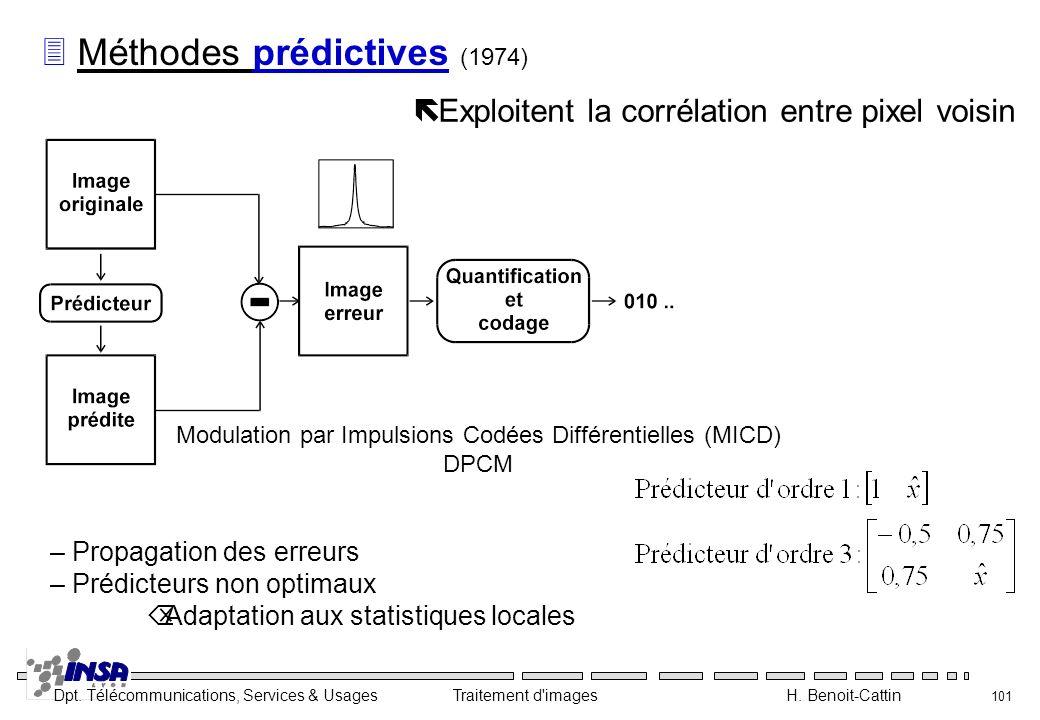 Modulation par Impulsions Codées Différentielles (MICD)